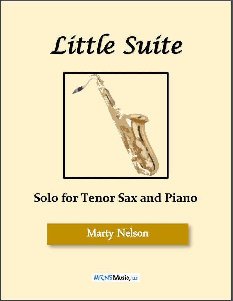Little Suite Solo for Tenor Sax and Piano