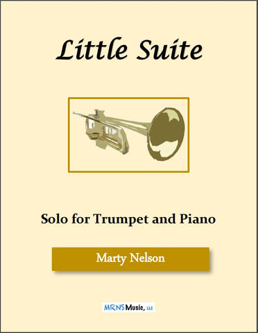 Little Suite Solo for Trumpet and Piano