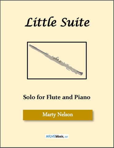Little Suite Solo for Flute and Piano