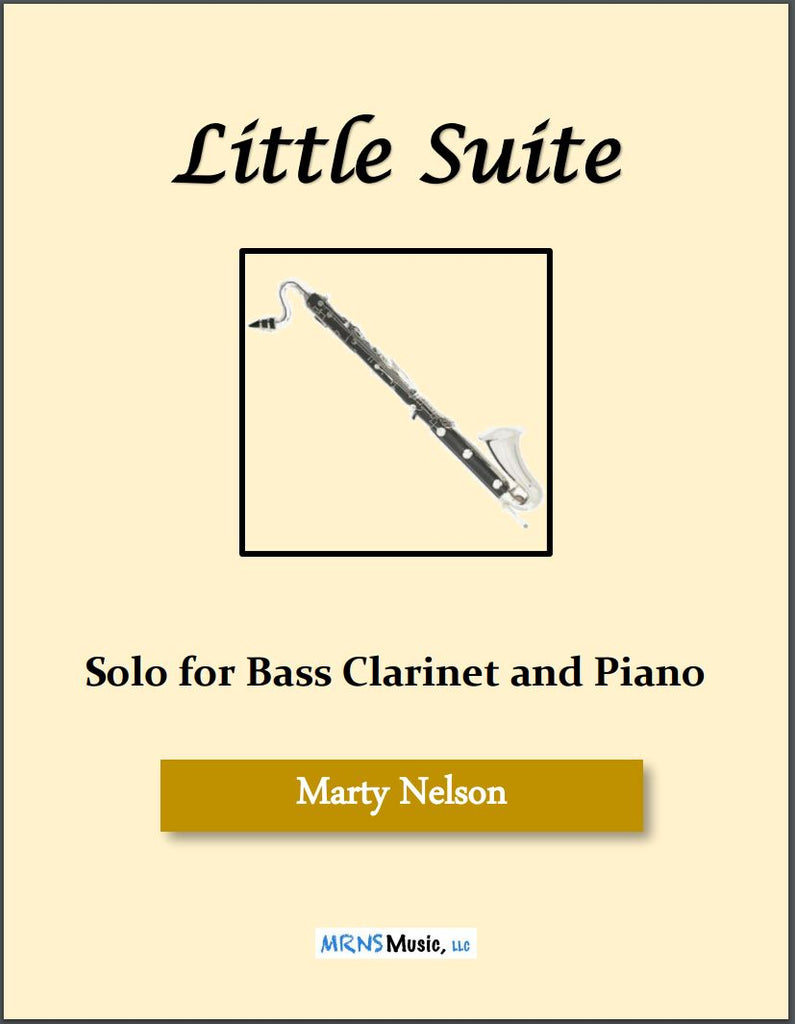 Little Suite Solo for Bass Clarinet and Piano
