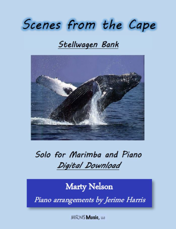 Stellwagen Bank Solo for Marimba and Piano