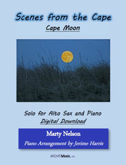 Cape Moon Solo for Alto Sax and Piano