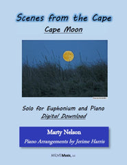 Cape Moon Solo for Euphonium and Piano