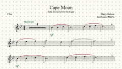 Cape Moon Solo for Flute and Piano