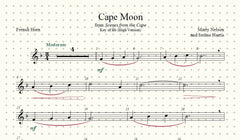 Cape Moon Solo for French Horn and Piano
