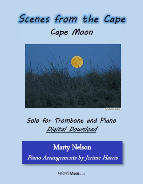 Cape Moon Solo for Trombone and Piano