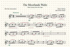 The Moorlands Waltz Solo for Alto Sax and Piano