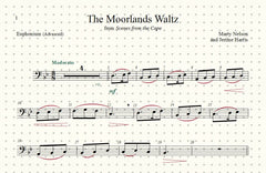 The Moorlands Waltz Solo for Euphonium and Piano