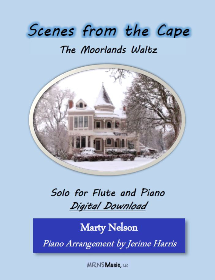 The Moorlands Waltz Solo for Flute and Piano
