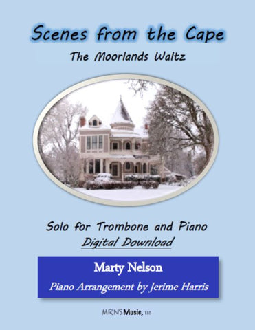 The Moorlands Waltz Solo for Trombone and Piano