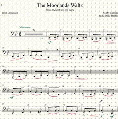The Moorlands Waltz Solo for Tuba and Piano
