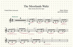 The Moorlands Waltz Solo for French Horn and Piano