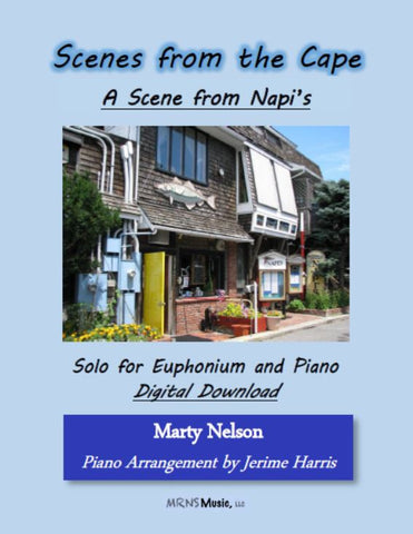 A Scene from Napi's Solo for Euphonium and Piano
