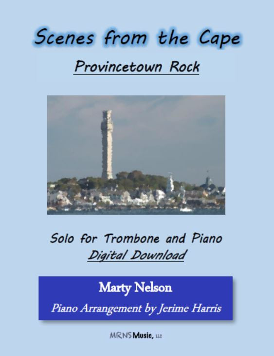 Provincetown Rock Solo for Trombone and Piano