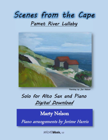 Pamet River Lullaby Solo for Alto Sax and Piano