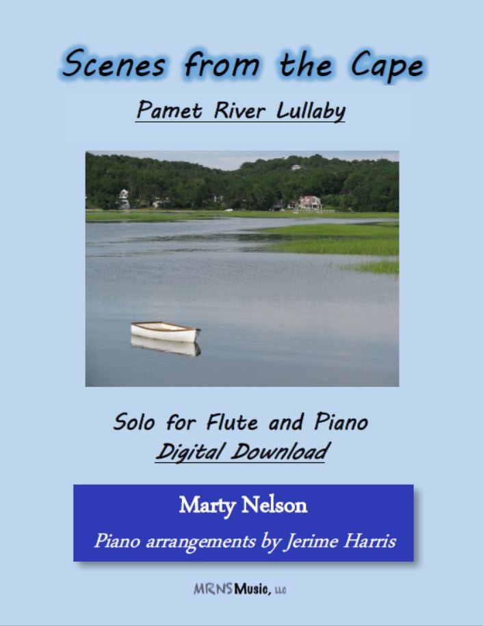 Pamet River Lullaby Solo for Flute and Piano