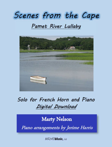 Pamet River Lullaby Solo for French Horn and Piano