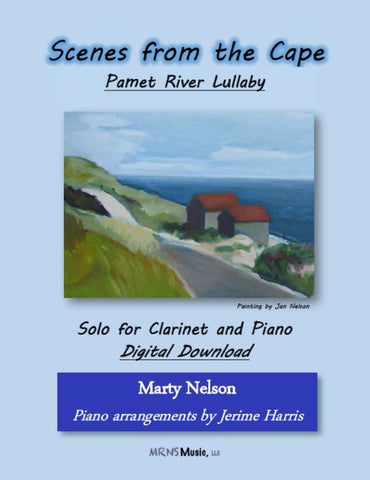 Pamet River Lullaby Solo for Clarinet and Piano
