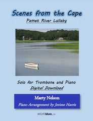 Pamet River Lullaby Solo for Trombone and Piano