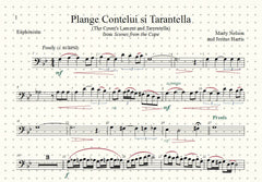 Plange Cantelui si Tarantella (The Count's Lament and Tarentella) Solo for Euphonium and Piano