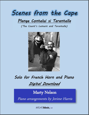 Plange Cantelui si Tarantella (The Count's Lament and Tarantella) Solo for Horn and Piano