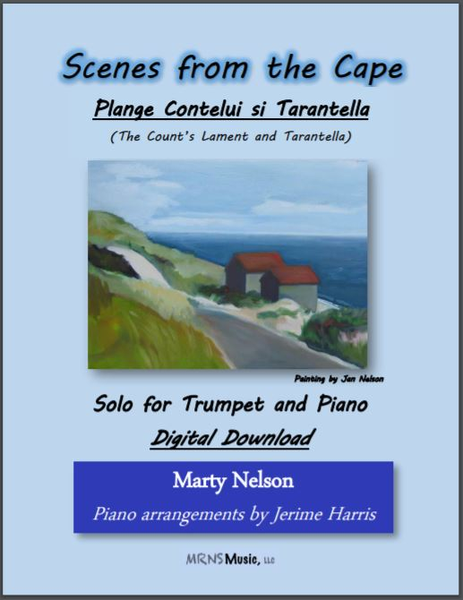 Plange Conteliu si Tarantella (The Count's Lament and Tarantella) Solo for Trumpet