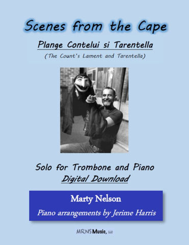 Plange Cantelui si Tarantella Solo for Trombone and Piano