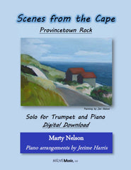 Provincetown Rock Solo for Trumpet and Piano