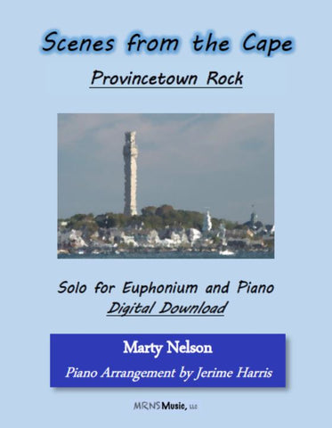 Provincetown Rock Solo for Euphonium and Piano