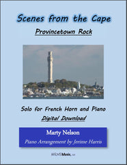 Provincetown Rock Solo for French Horn and Piano