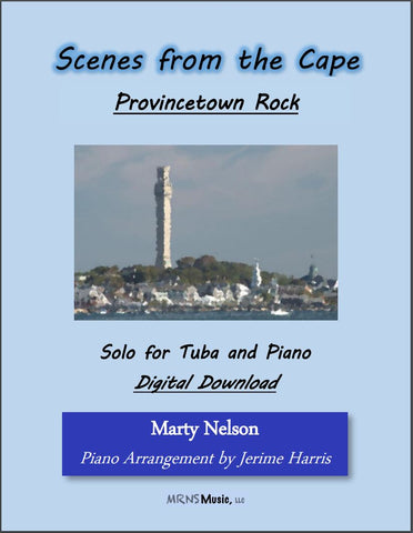Provincetown Rock Solo for Tuba and Piano
