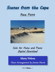 Race Point Solo for Flute and Piano