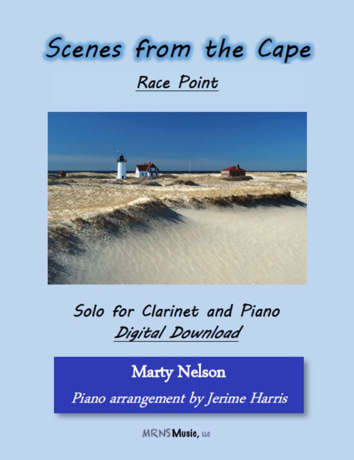 Race Point Solo for Clarinet and Piano