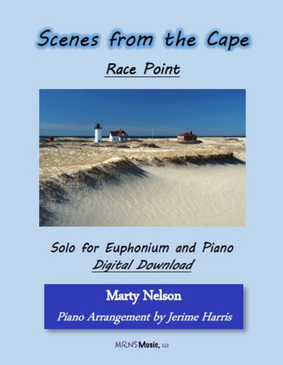 Race Point Solo for Euphonium and Piano