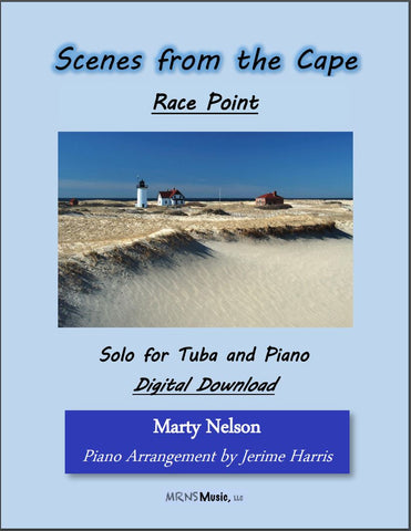 Race Point Solo for Tuba and Piano