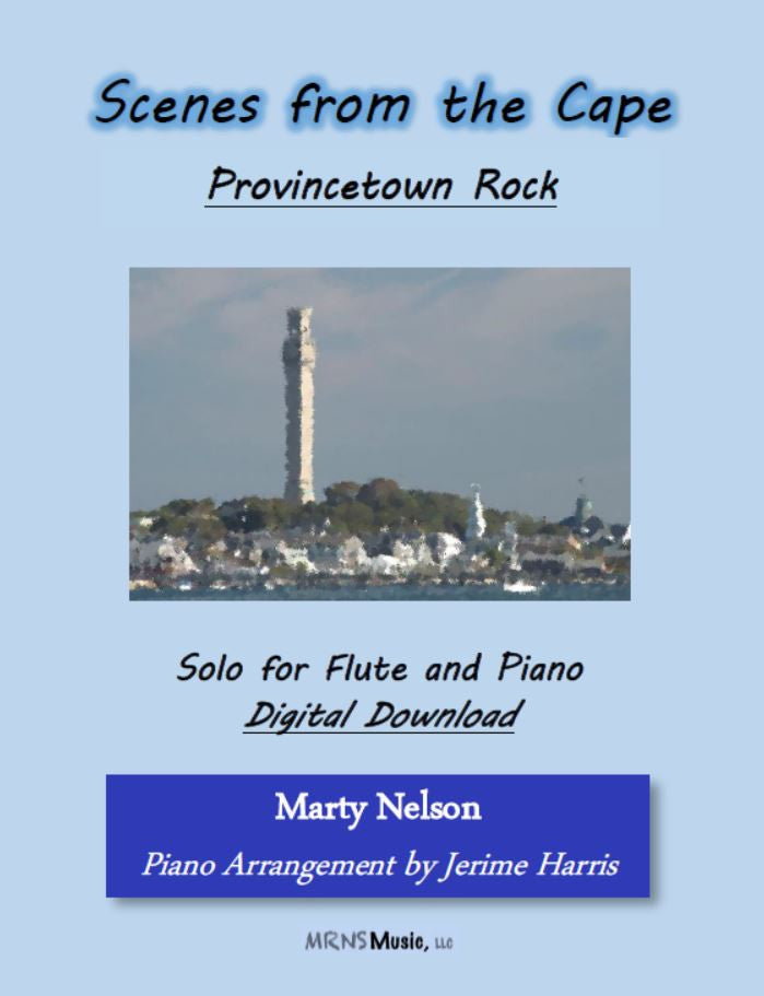 Provincetown Rock Solo for Flute and Piano