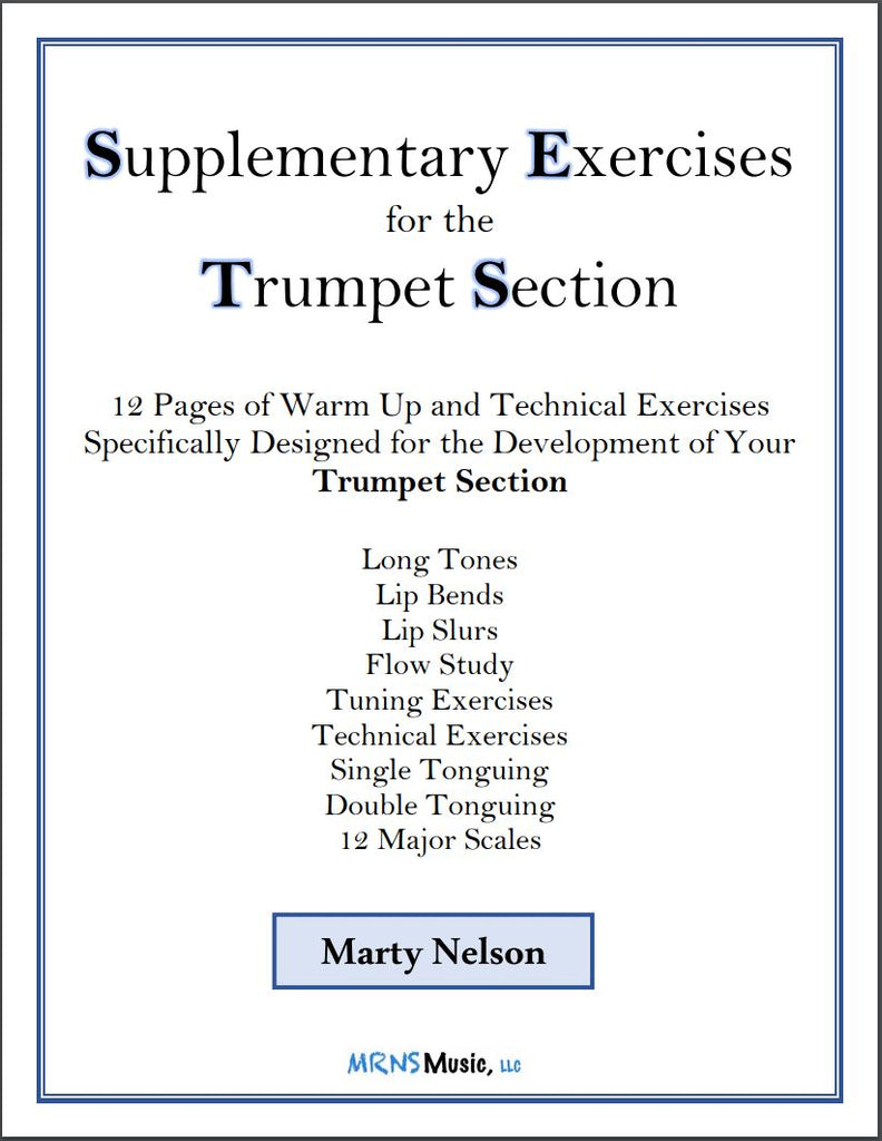 Supplemental Exercises for the Trumpet Section – MRNS Music