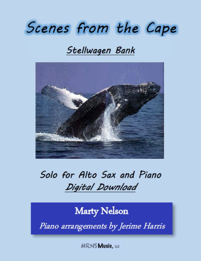 Stellwagen Bank Solo for Alto Sax and Piano