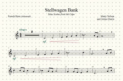 Stellwagen Bank Solo for French Horn and Piano