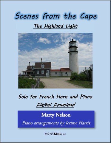 The Highland Light Solo for French Horn and Piano