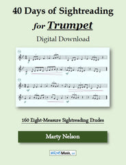 40 Days of Sightreading for Trumpet