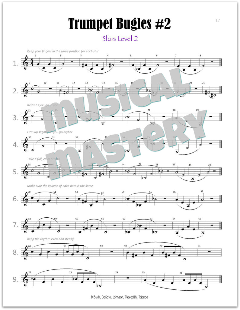 Musical Mastery for Band Trumpet Book 1 – MRNS Music