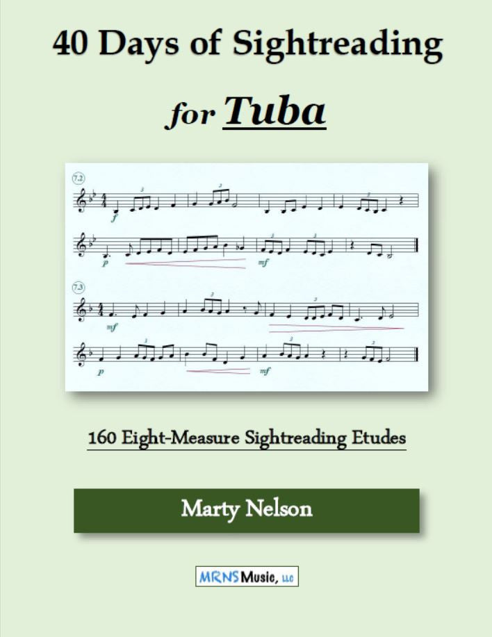 40 Days of Sightreading for Tuba