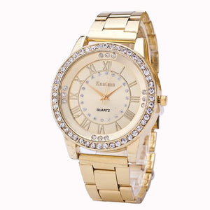 Crystal Rhinestone Stainless Steel Watches