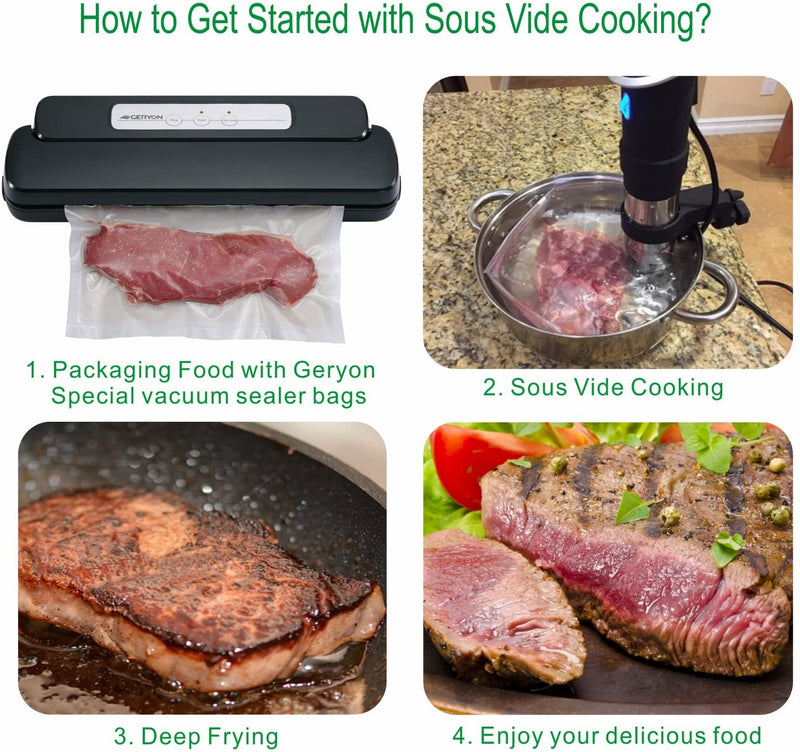 Vacuum Sealer for Food Preservation and Family Safety