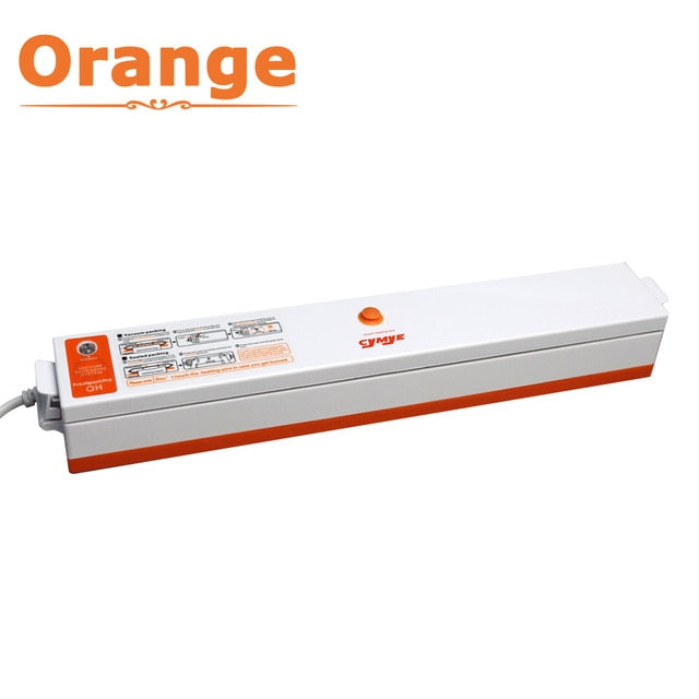 Cymye Food Vacuum Sealer QH01 Packaging Machine 220V including 15Pcs bag Vaccum Packer can be use for food saver