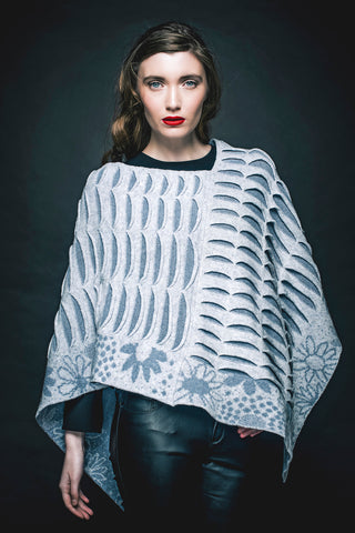 Signature Lambswool Daisychain Poncho