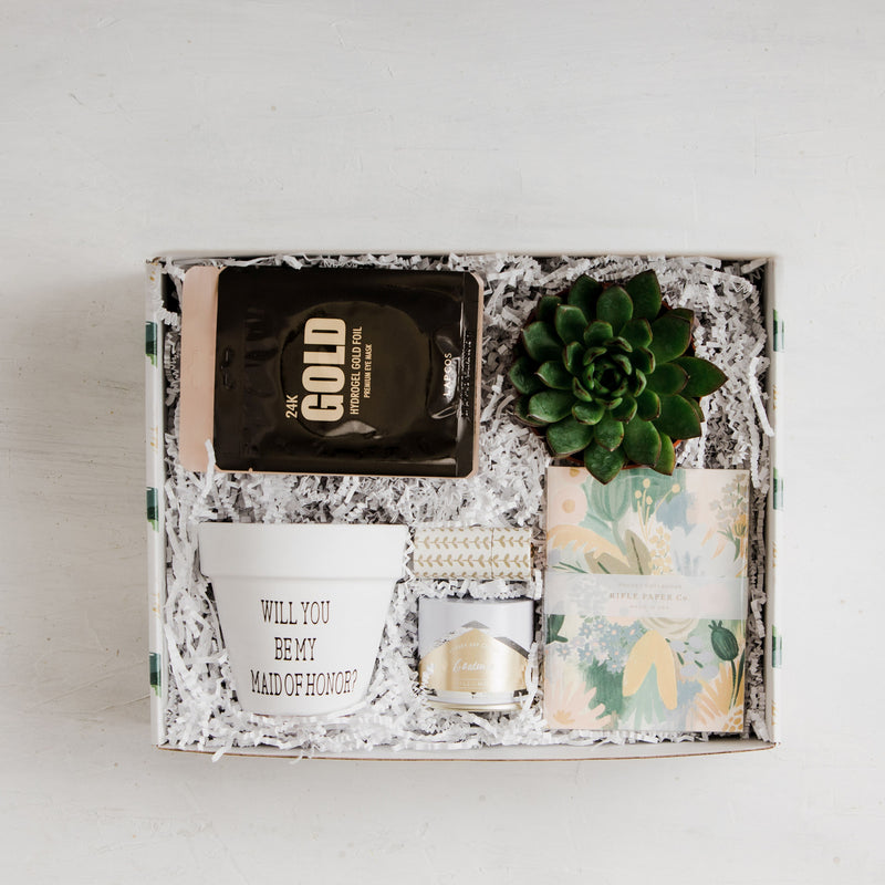 You're Golden - Be My Maid of Honor Gift Box