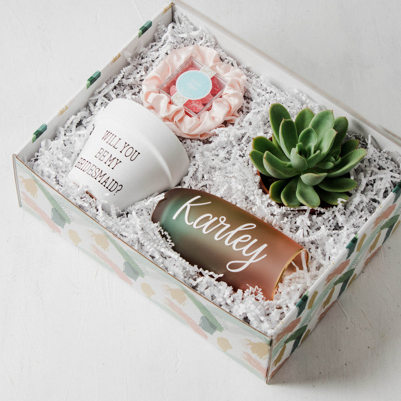 Blooming Bridesmaid Gift Box