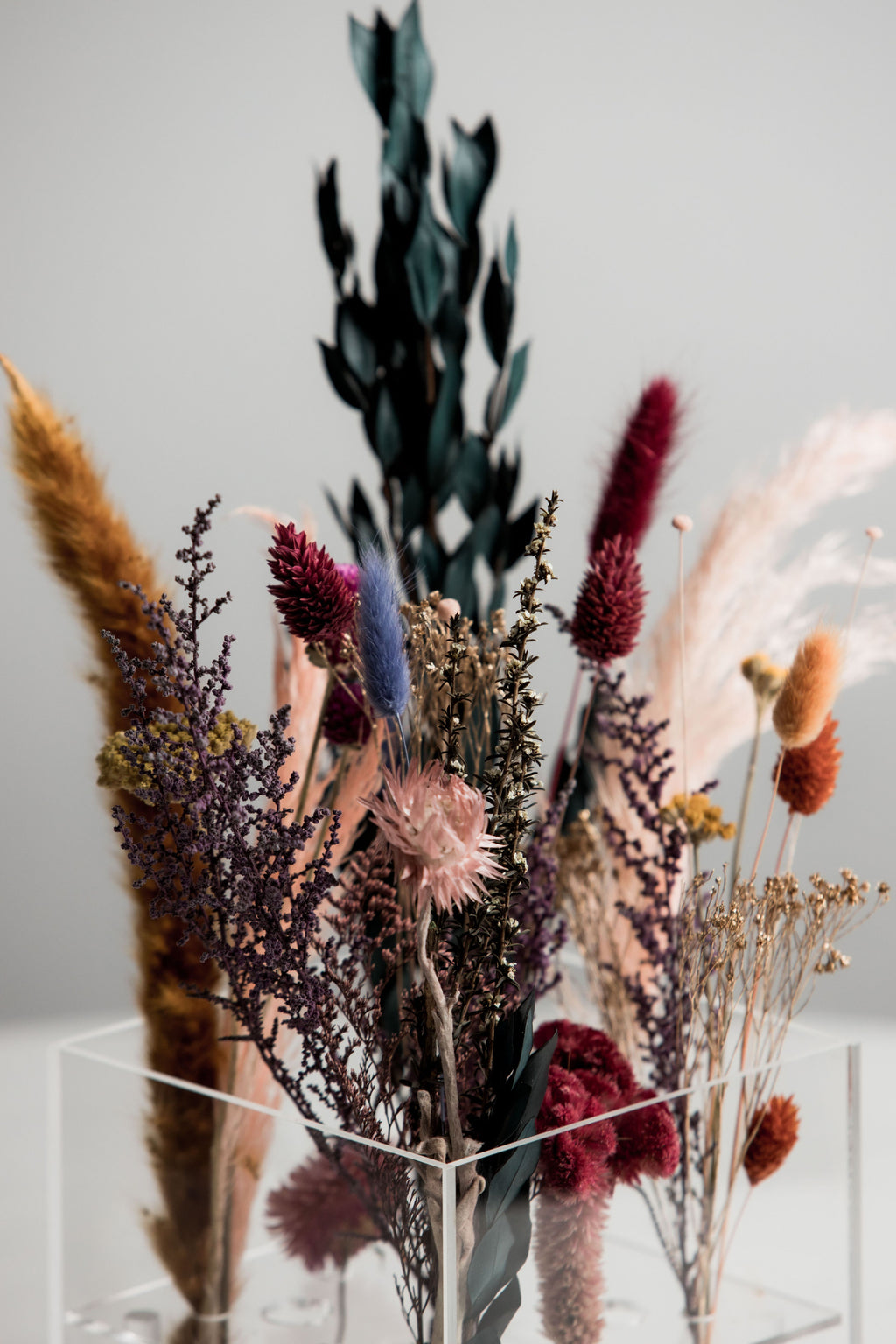 Life in Color Dried Floral Arrangement